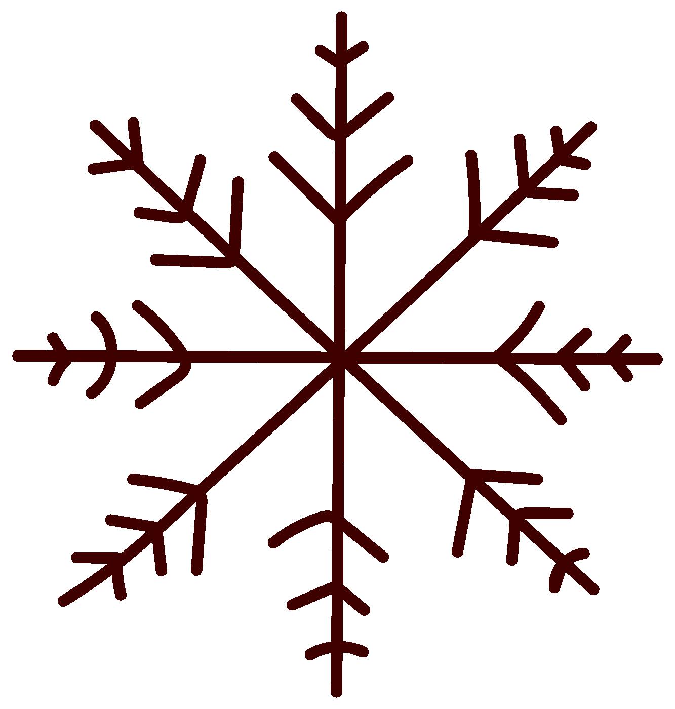 Large snowflake detail