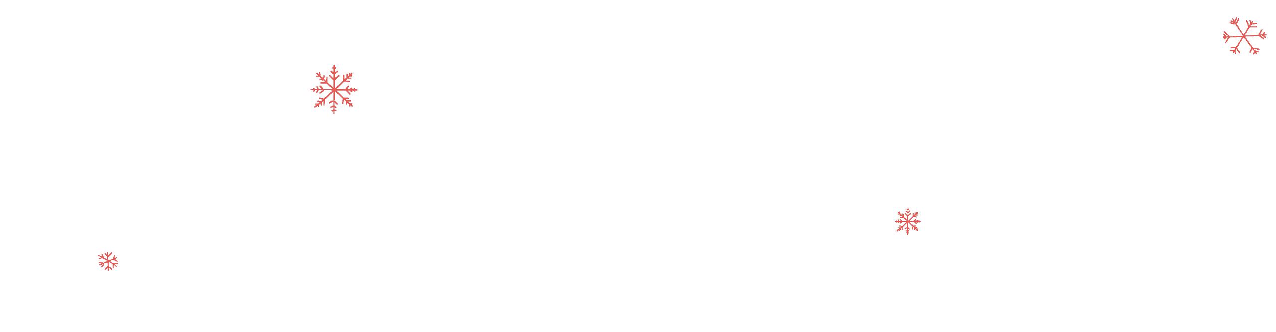 Snowflakes detail