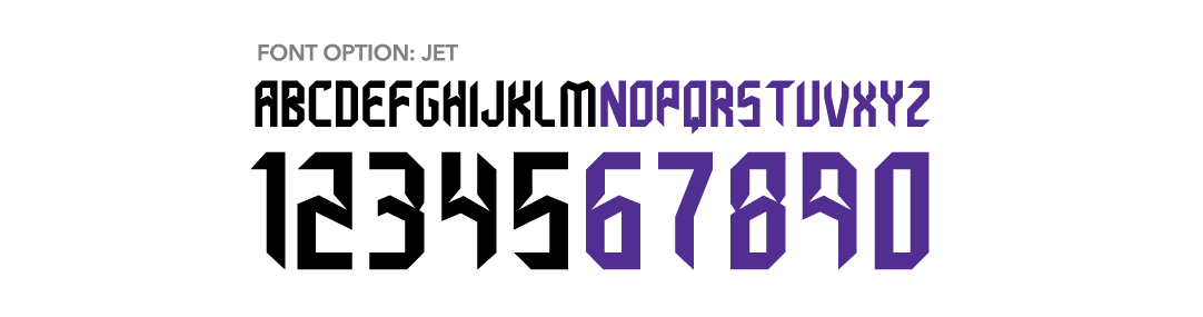 Russell Athletic Blitz Football - jet Font