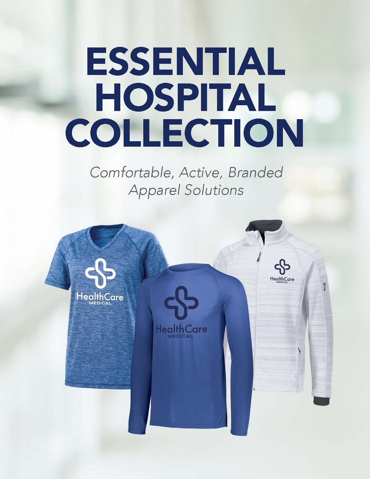 View our collection of essential hospital products.