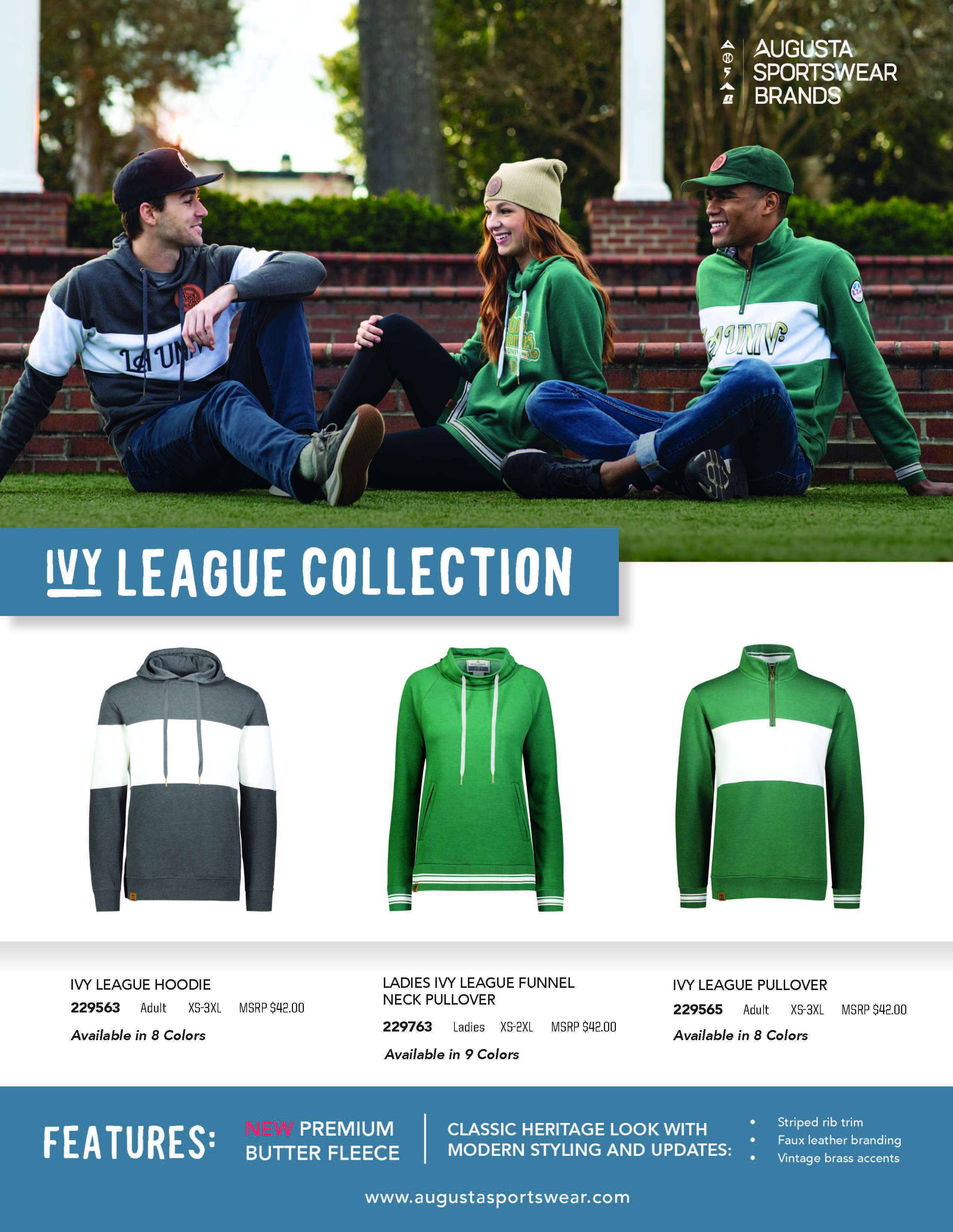 All new Ivy League Collection