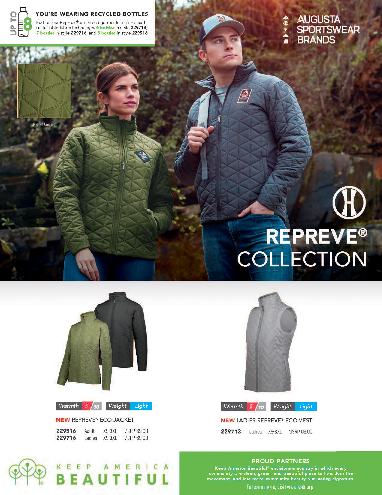 All new Repreve® Collection