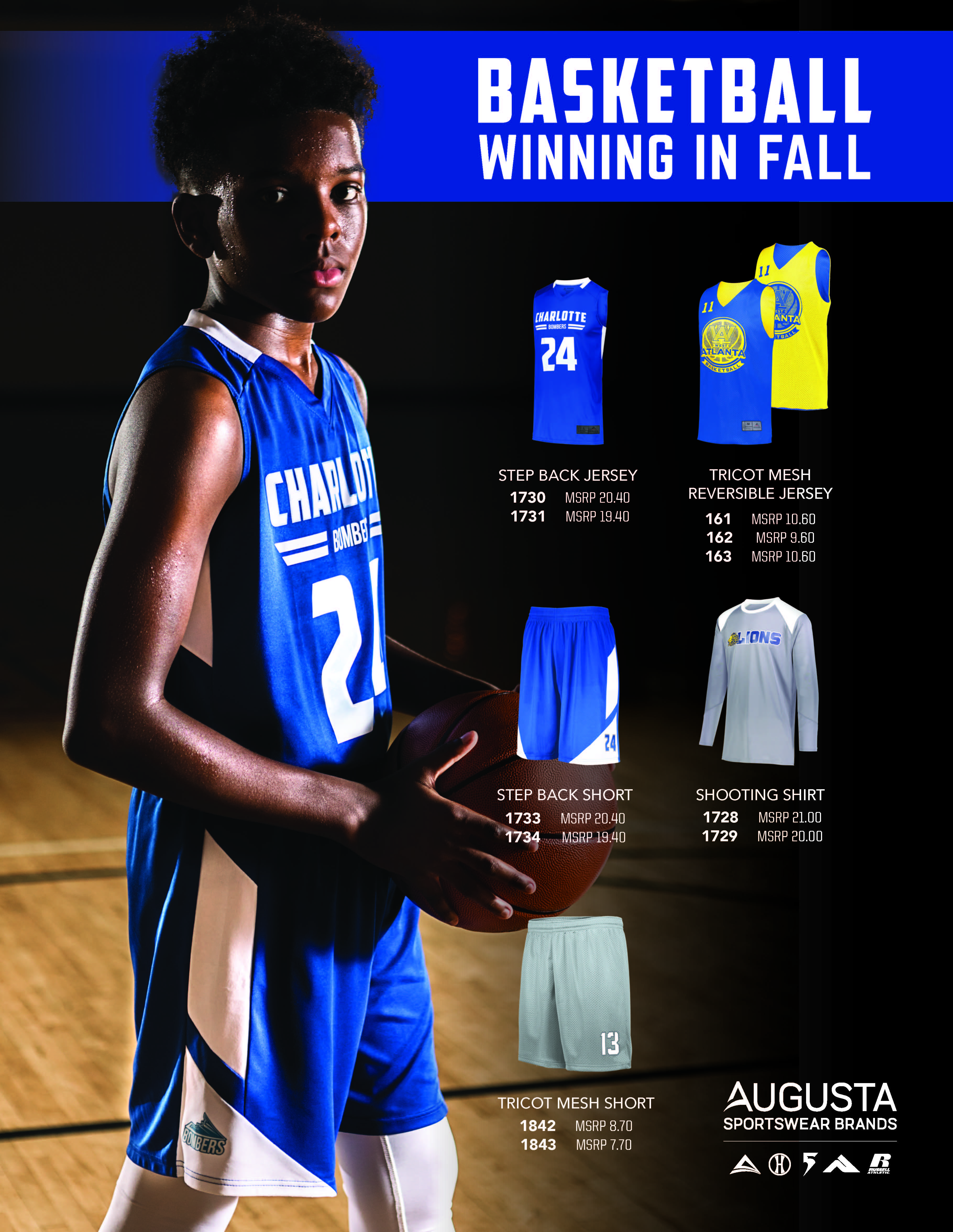 View program flyer for the Basketball Value Bundle
