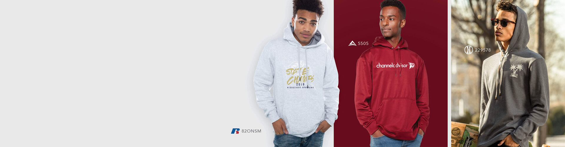 Adult hoodies and outerwear