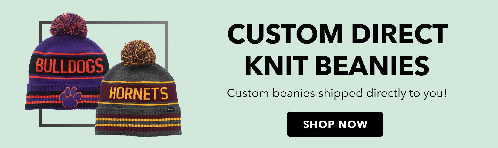Custom Direct Knit Beanies