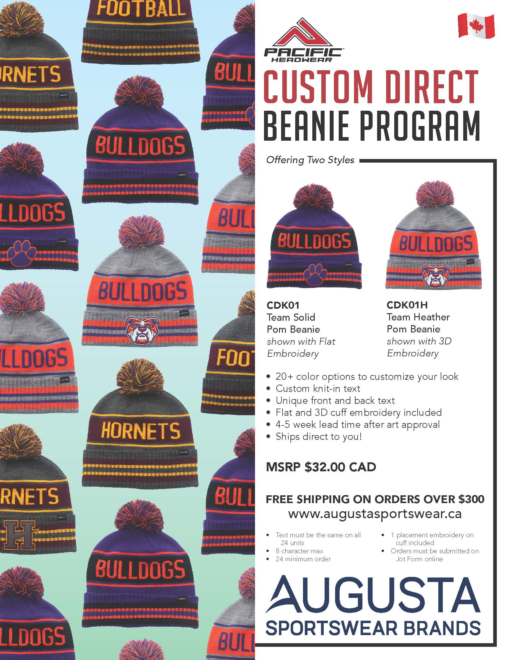 Custom Direct Beanie Program
