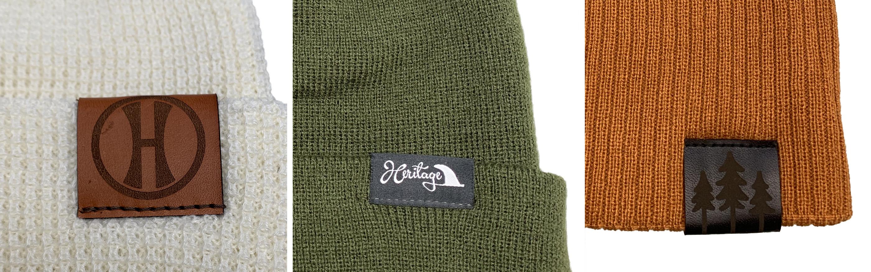 Pacific Headwear Beanie Clip Tags