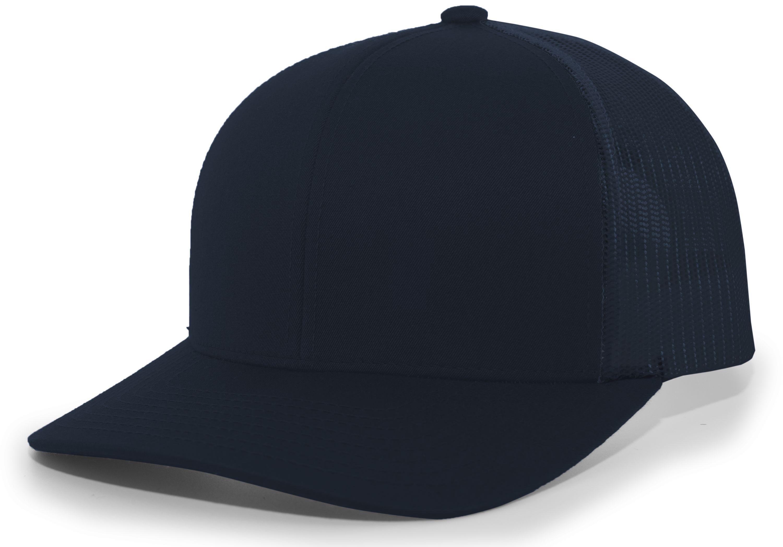 Trucker Snapback Cap - NAVY