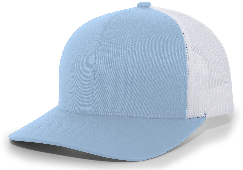 Trucker Snapback Cap - COLUMBIA BLUE/WHITE/COLUMBIA BLUE