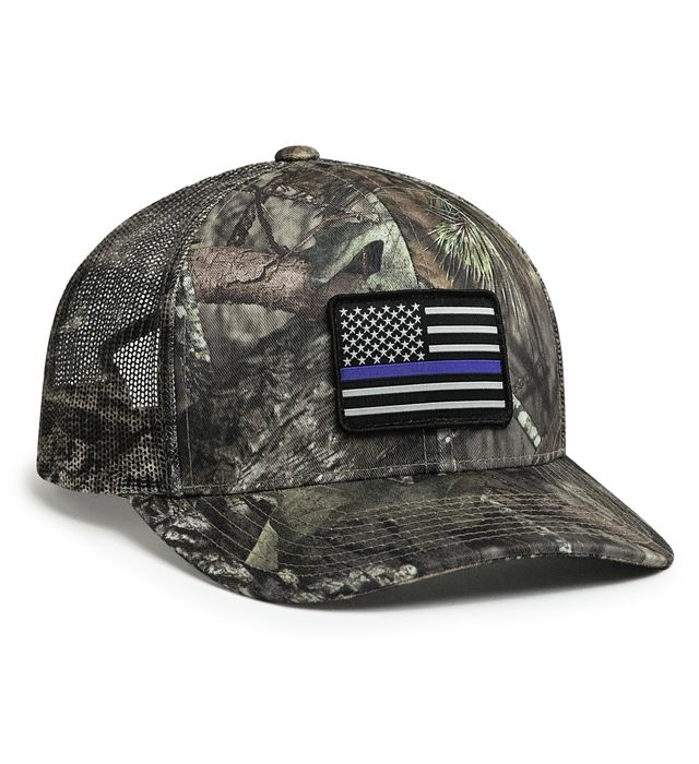 Camo Snapback Trucker Cap
