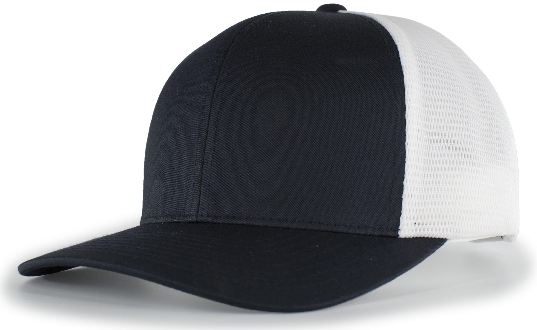 Trucker Flexfitâ® Snapback Cap - NAVY/WHITE/NAVY