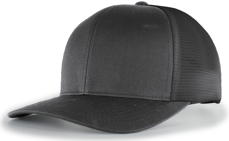 Trucker Flexfitâ® Snapback Cap - LIGHT CHARCOAL