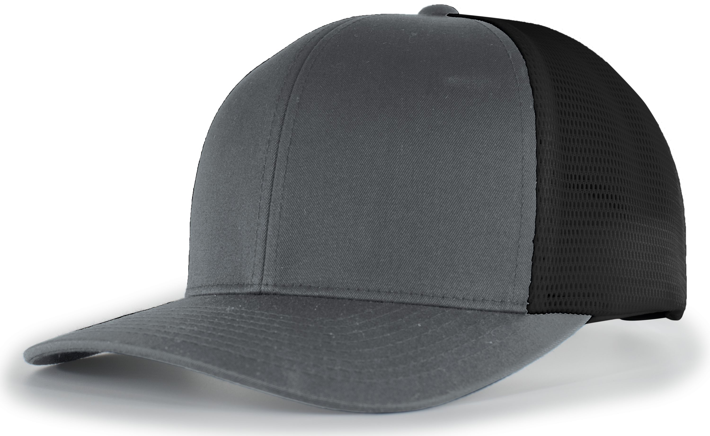 Trucker Flexfitâ® Snapback Cap - GRAPHITE/BLACK/GRAPHITE