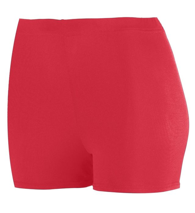"""Ladies Poly/Spandex 2.5"""" Shorts"""