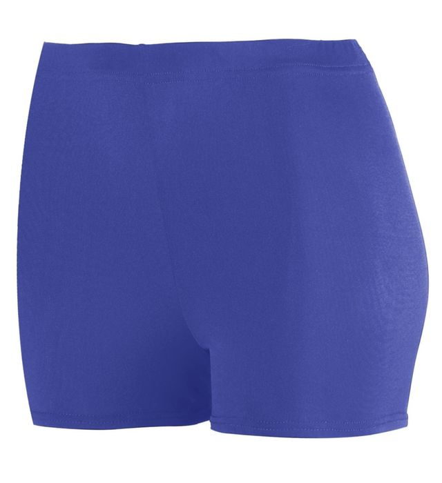 "Girls Poly/Spandex 2.5"" Shorts"