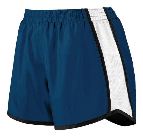 Ladies Pulse Shorts - NAVY/WHITE/BLACK