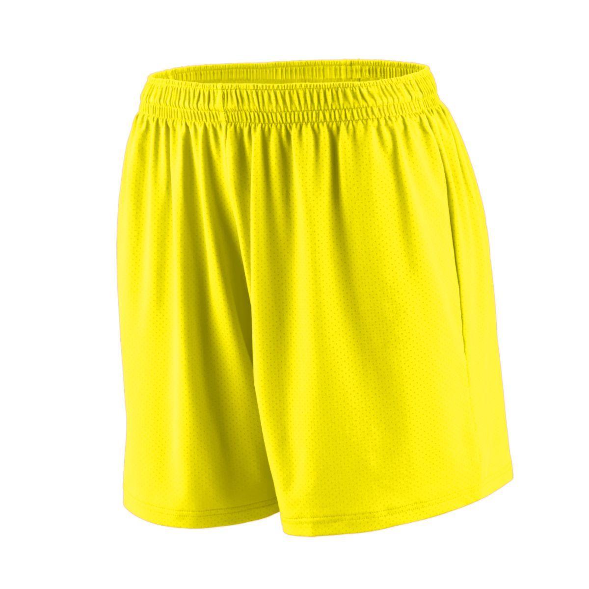 Ladies Inferno Shorts - POWER YELLOW