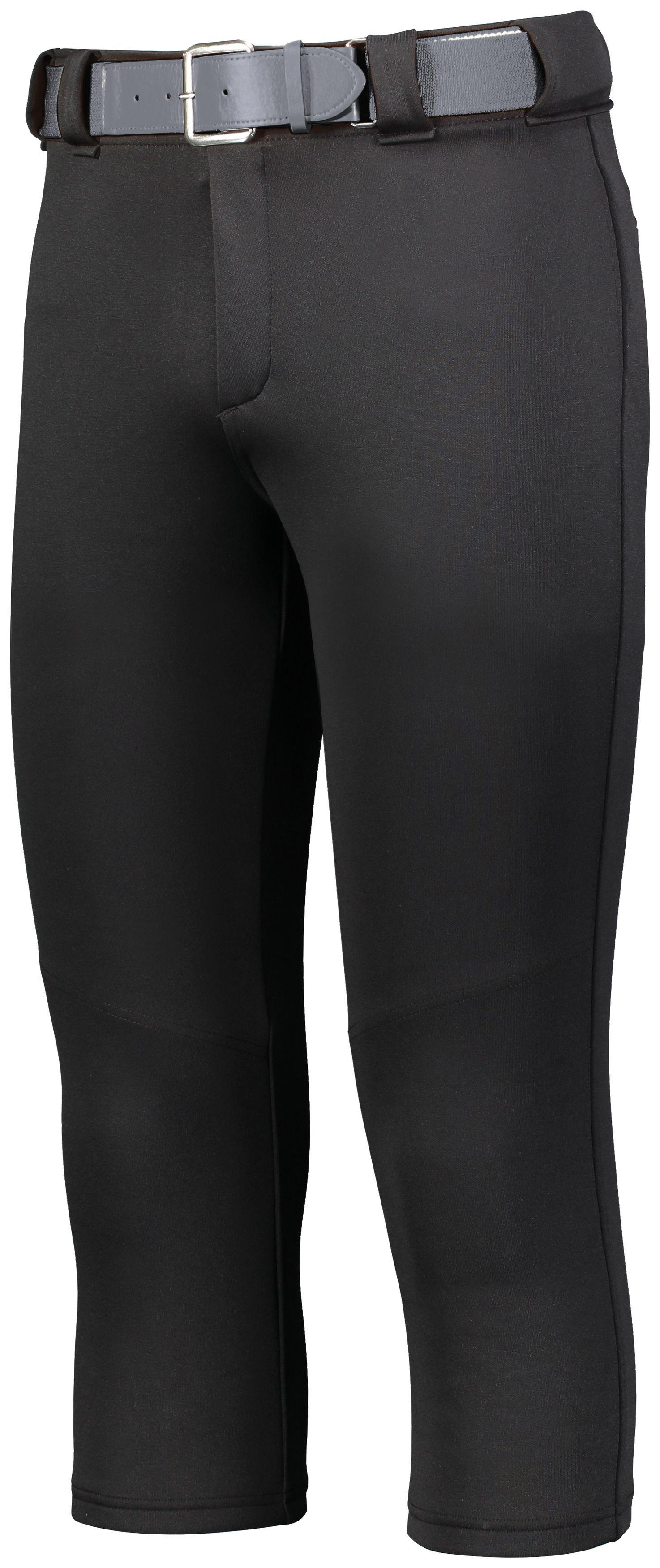 Ladies Slideflex Softball Pant - BLACK