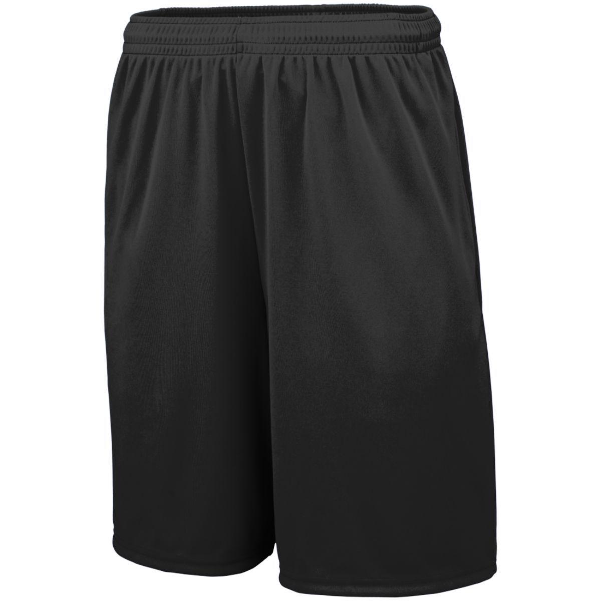 Training Shorts With Pockets - BLACK