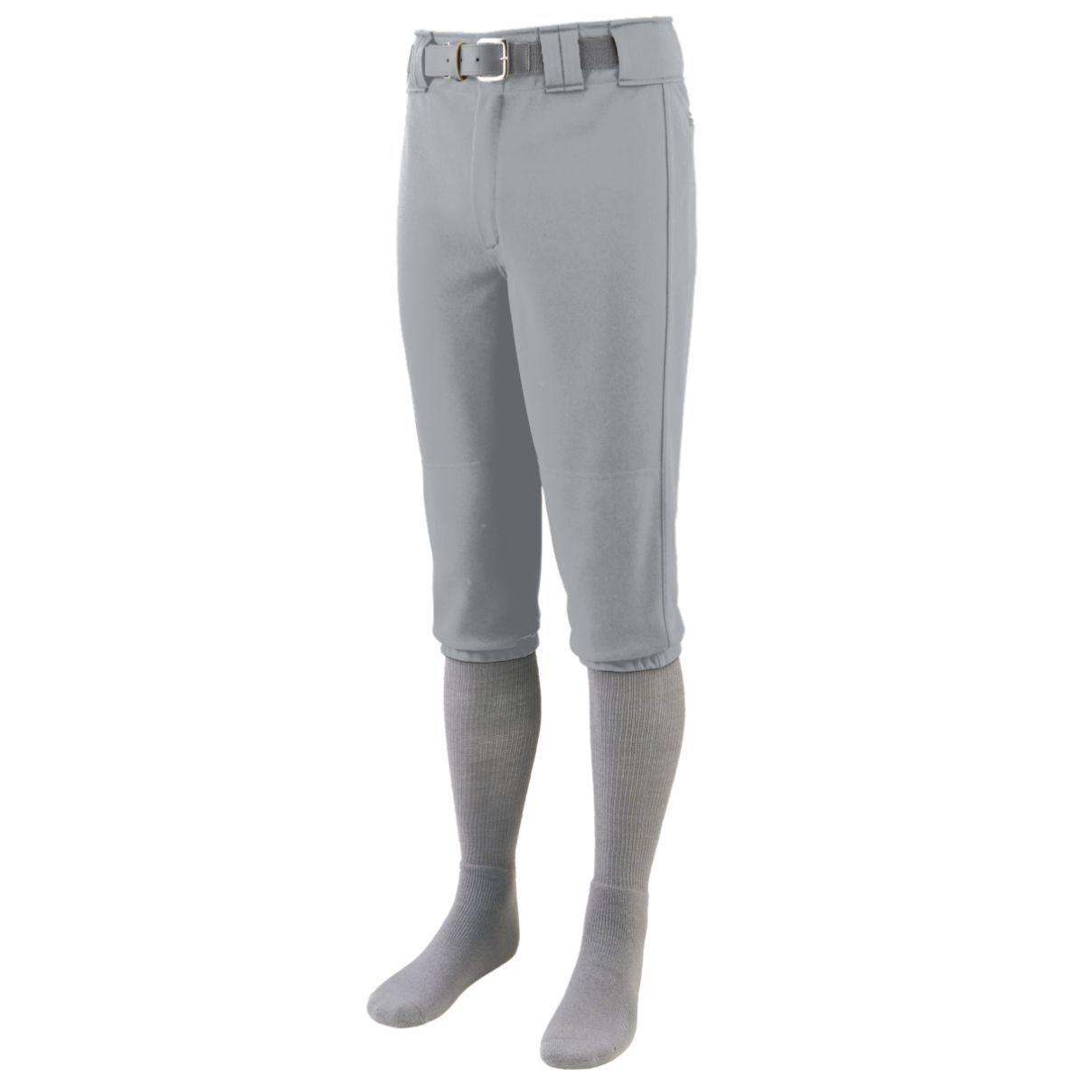 Augusta Sportswear Mens Series Knee Length Baseball Pant S White