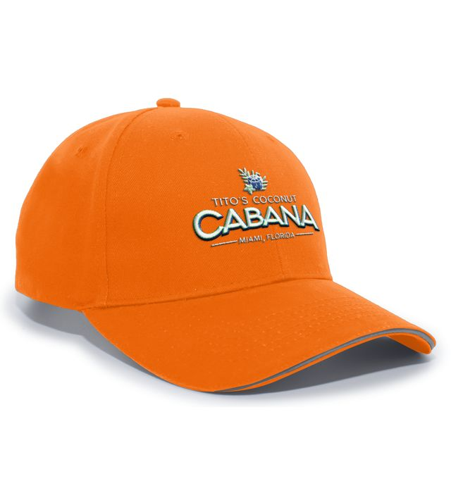 High Visibility Hook-And-Loop Adjustable Cap