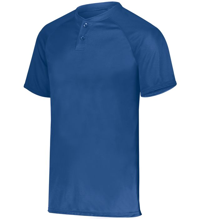 Attain Wicking Two-Button Baseball Jersey