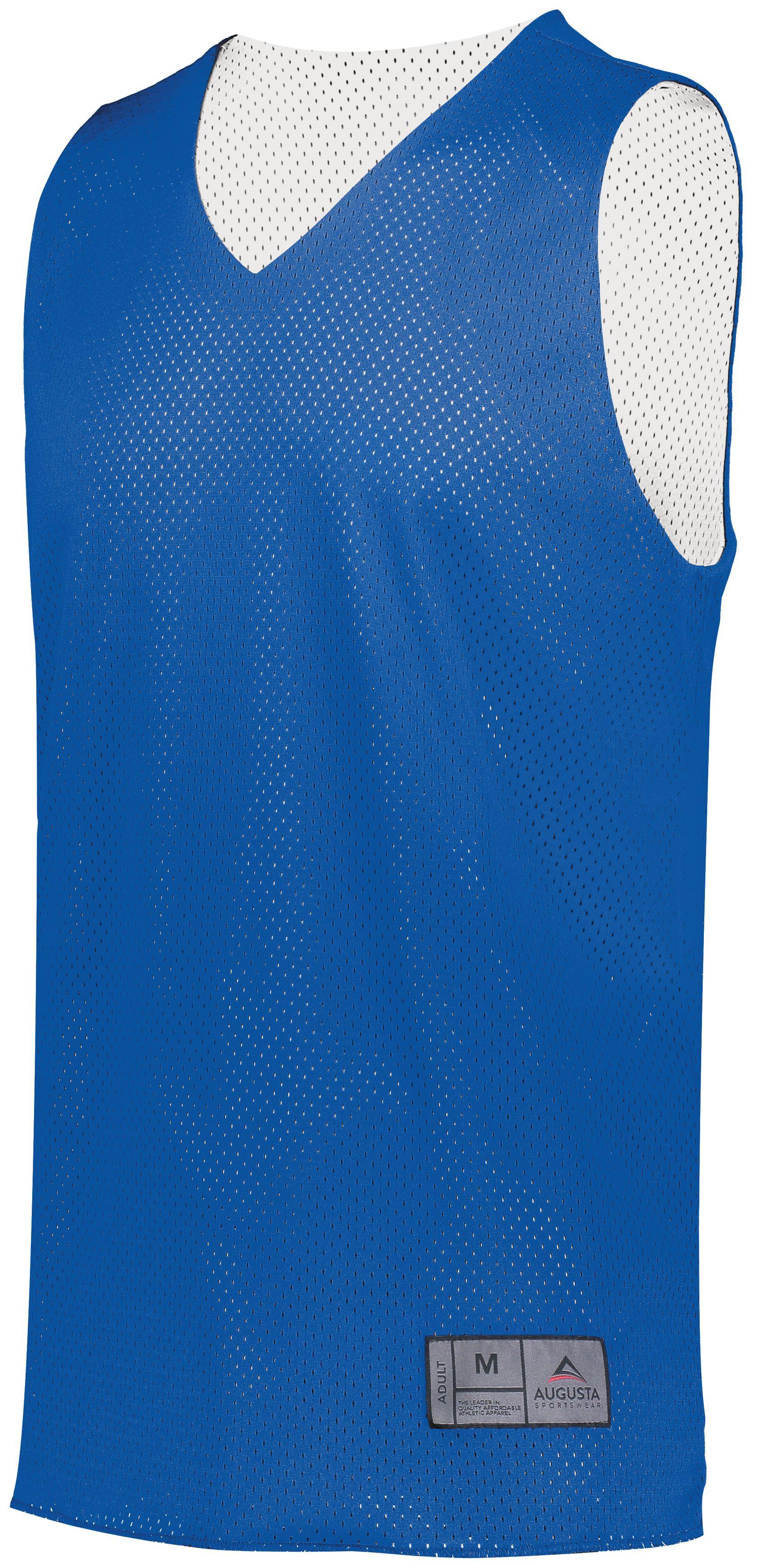 Tricot Mesh Reversible Jersey 2.0 - ROYAL/WHITE