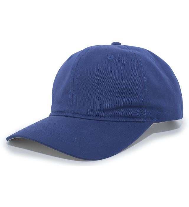 Brushed Cotton Twill Hook-And-Loop Adjustable Cap