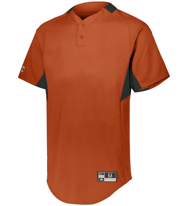 Game7 Two-Button Baseball Jersey
