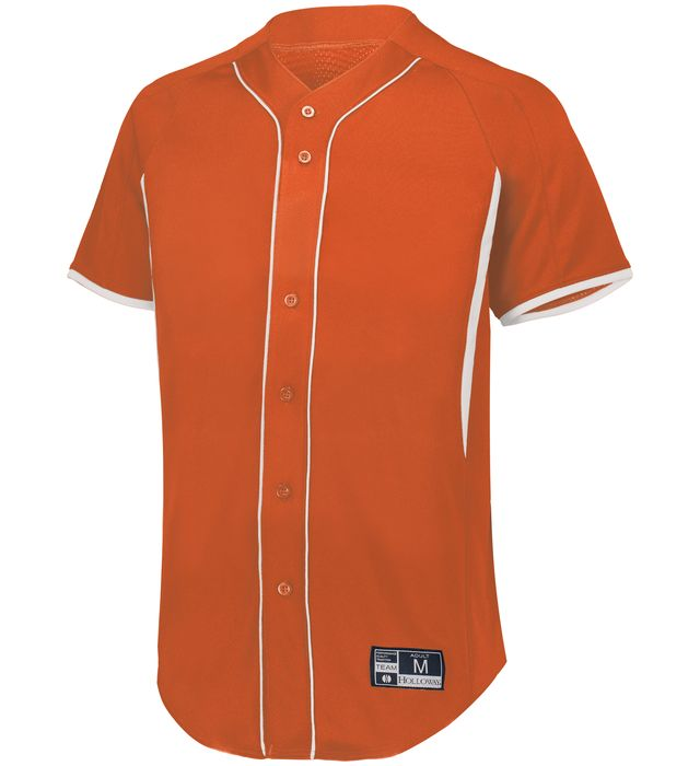 Game7 Full-Button Baseball Jersey