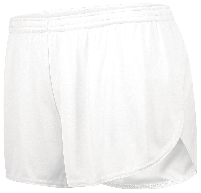 Ladies Pr Max Track Shorts - White