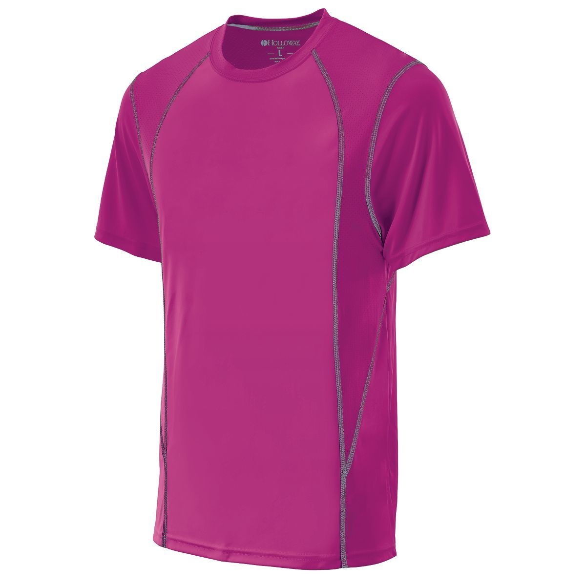Youth Devote Shirt - POWER PINK/GRAPHITE