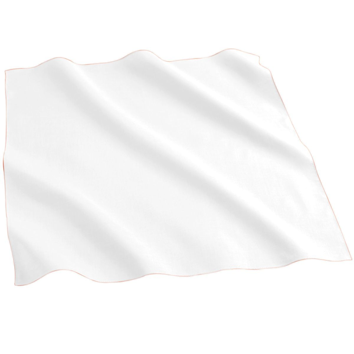 Cotton/poly Bandana - White