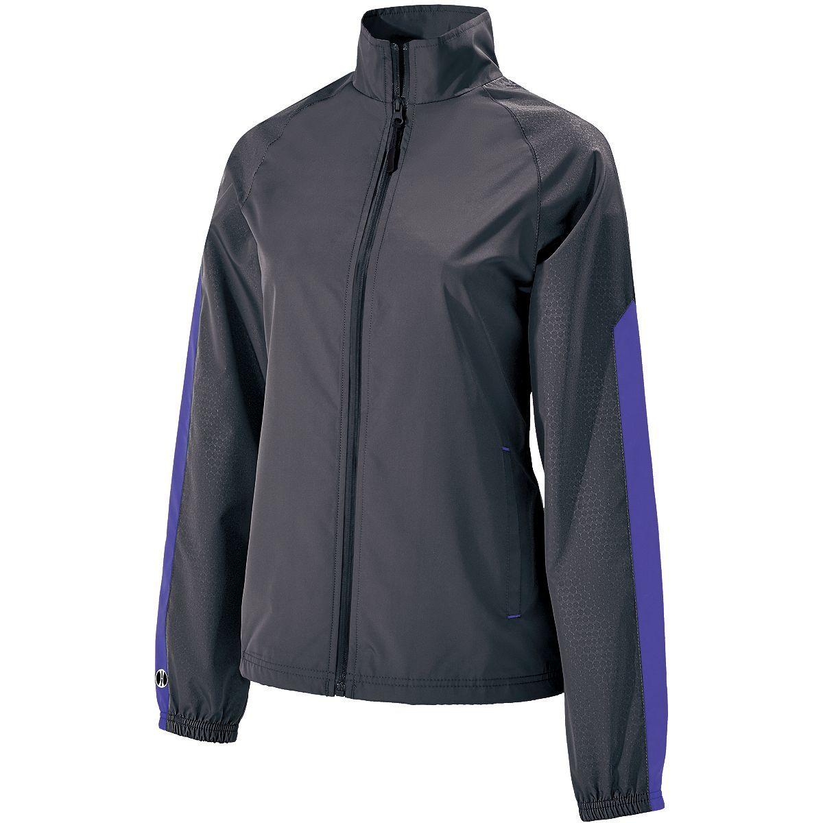Ladies Bionic Jacket - Carbon/purple