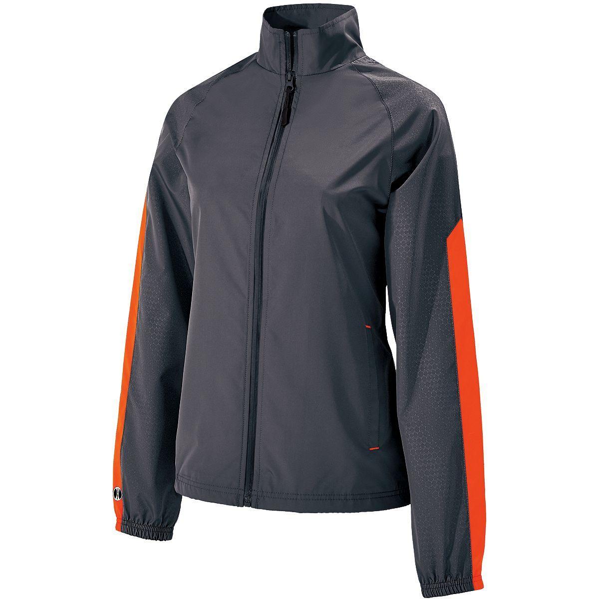 Ladies Bionic Jacket - CARBON/ORANGE