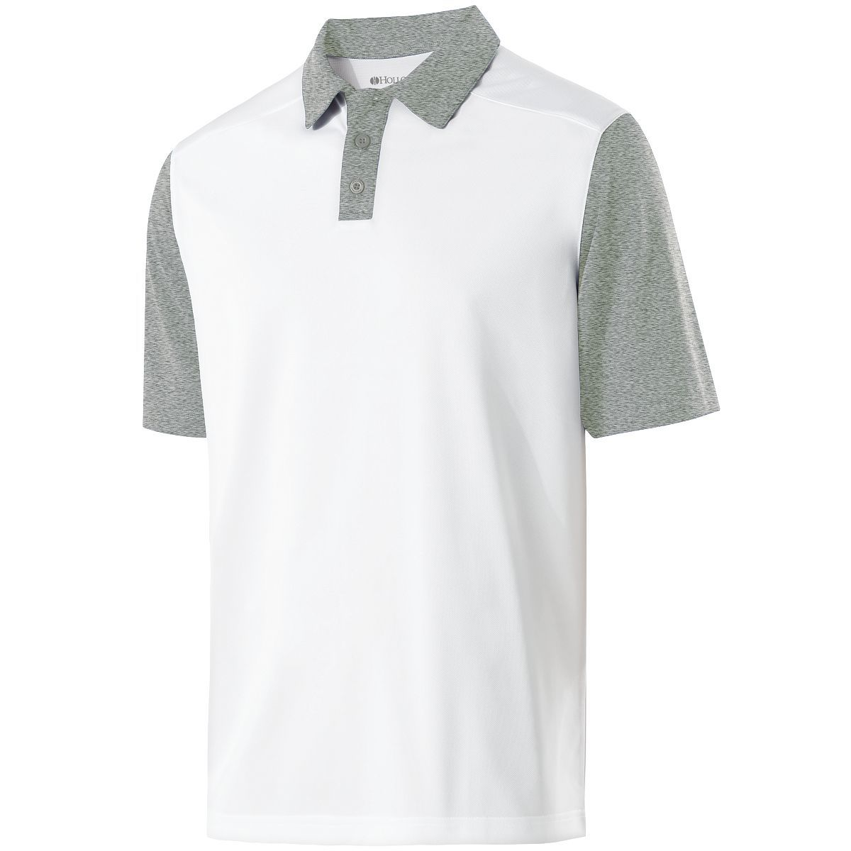 Pike Polo - WHITE/ATHLETIC HEATHER