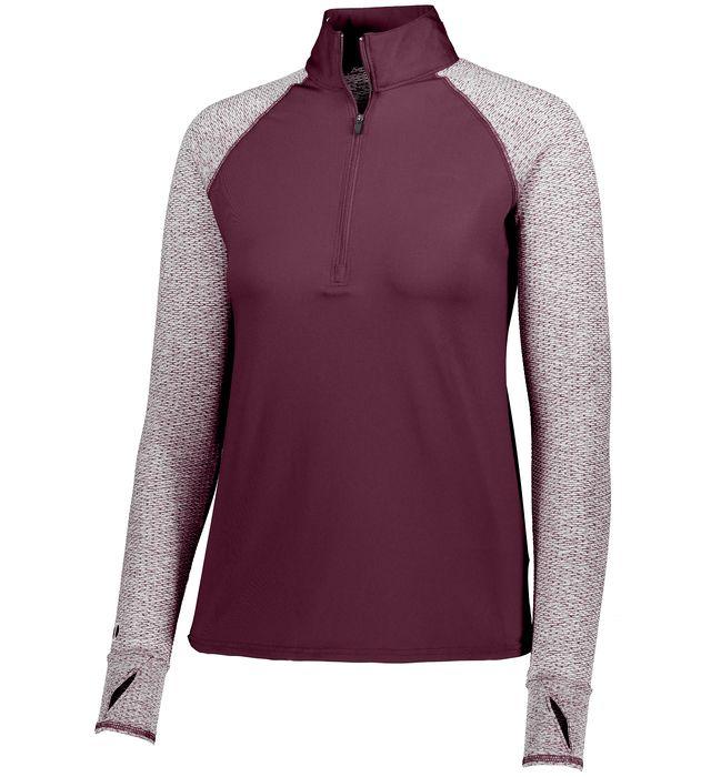 Ladies Axis 1/2 Zip Pullover