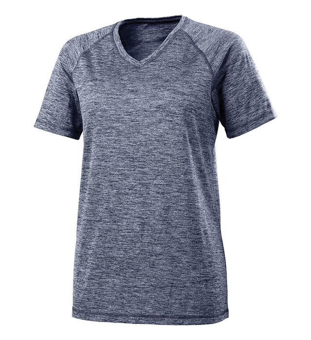 Ladies Electrify 2.0  Short Sleeve Shirt V-Neck