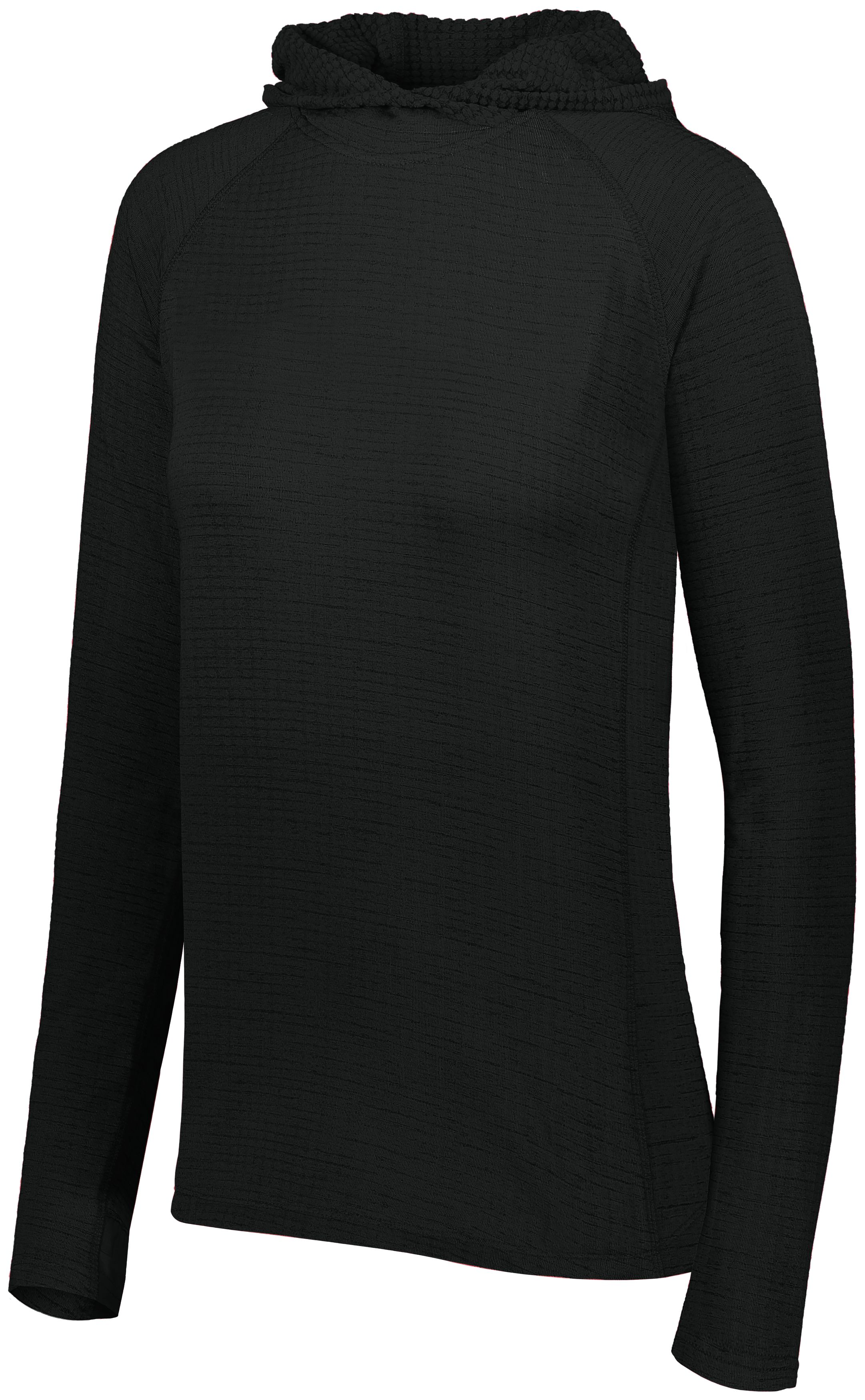 Ladies 3D Regulate Lightweight Pullover - BLACK