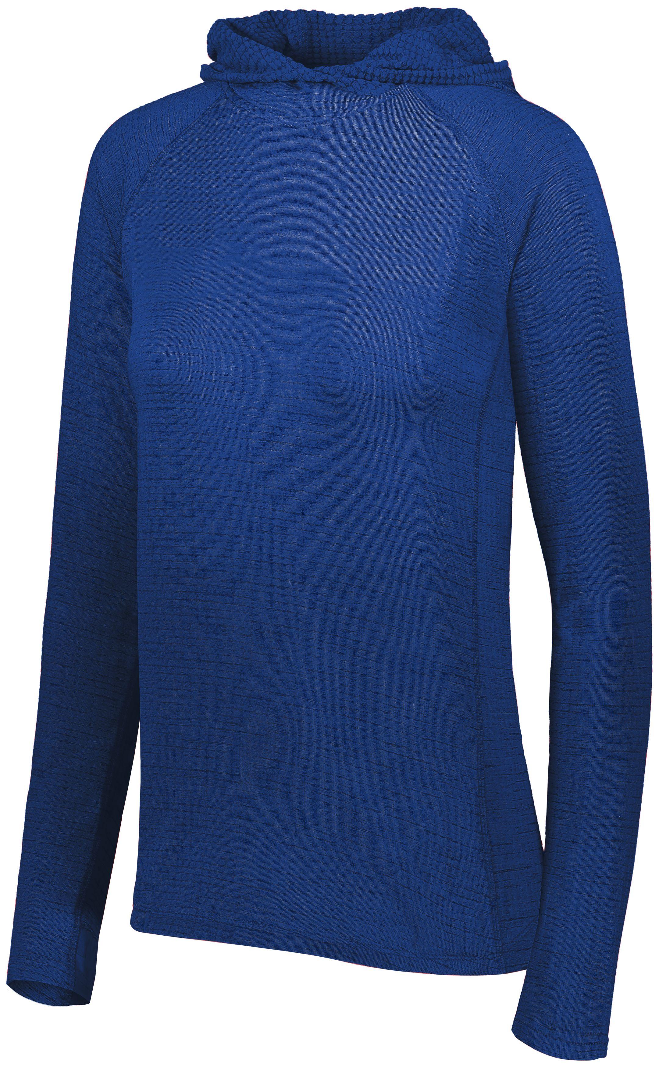 Ladies 3D Regulate Lightweight Pullover - ROYAL HEATHER