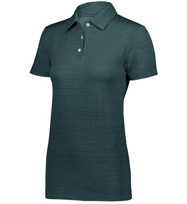 Ladies Striated Polo