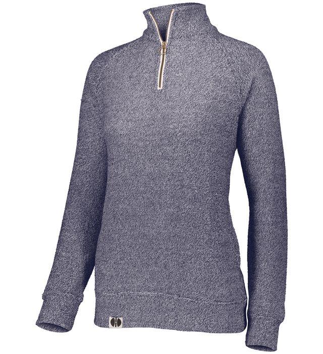 Ladies Cuddly 1/4 Zip Pullover