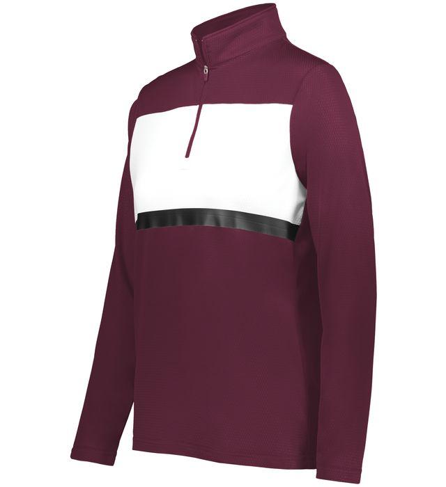 Ladies Prism Bold 1/4 Zip Pullover