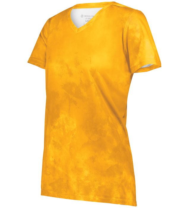 Ladies Cotton-Touch Poly Cloud Tee