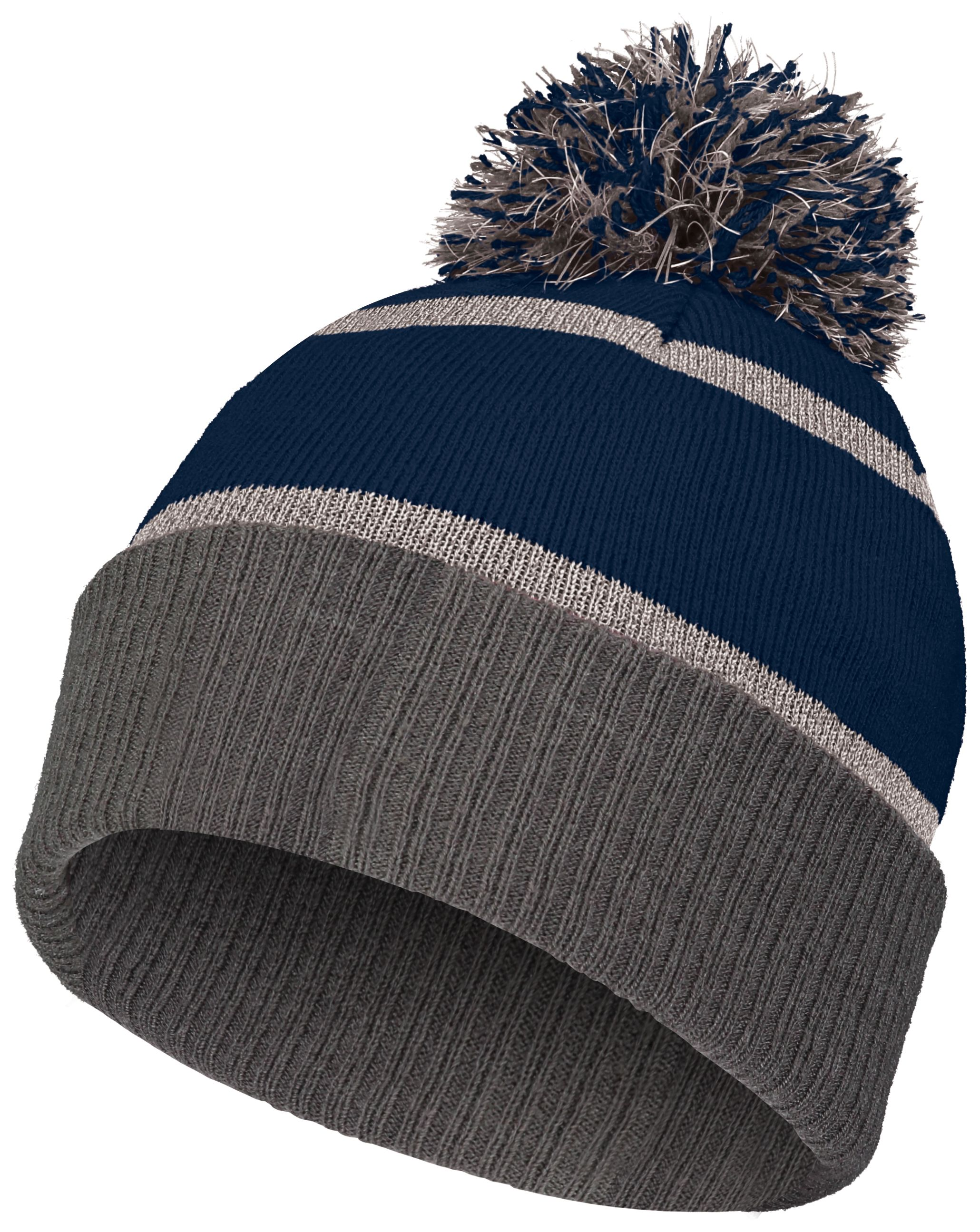 Reflective Beanie - NAVY/CARBON