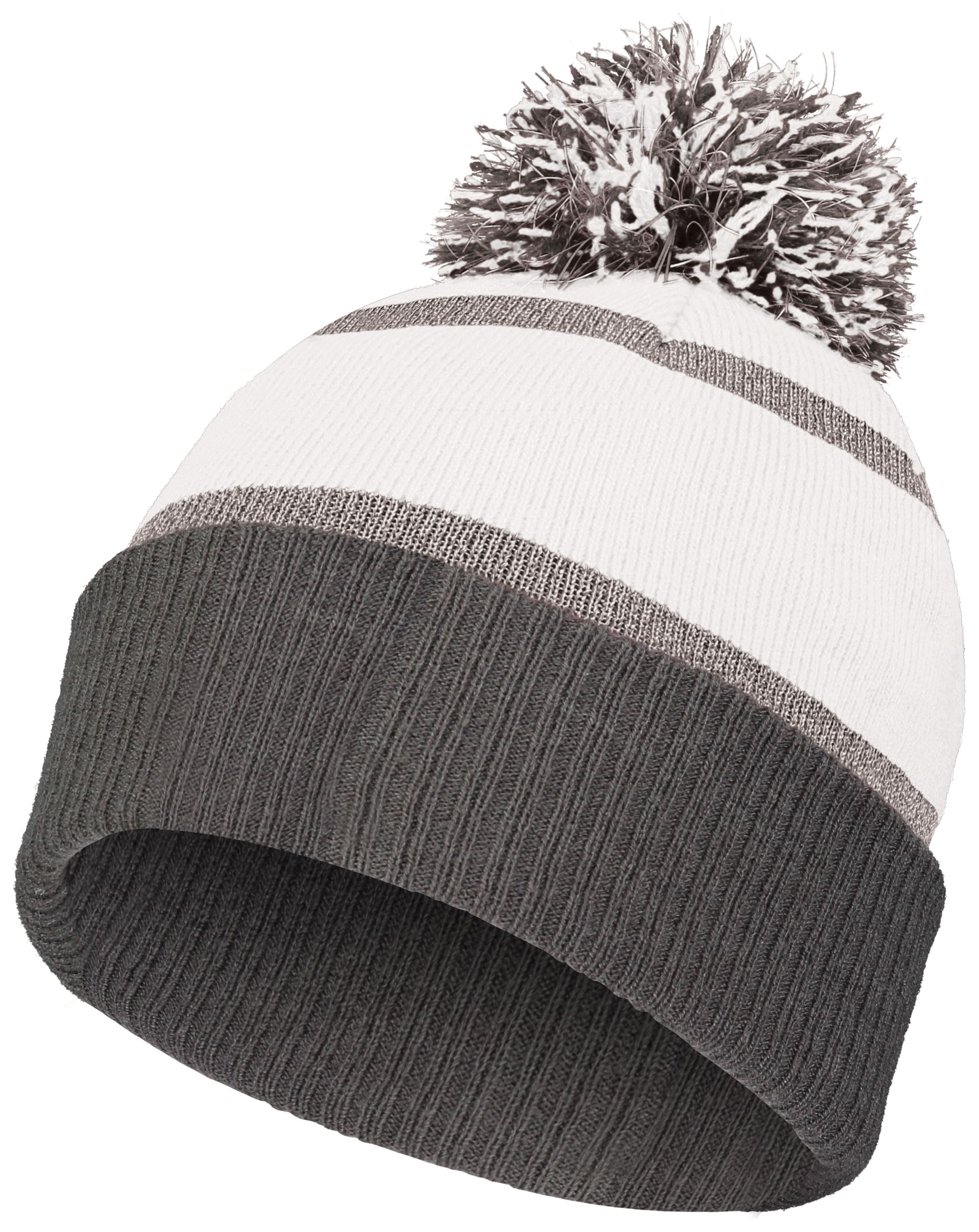 Reflective Beanie - WHITE/CARBON