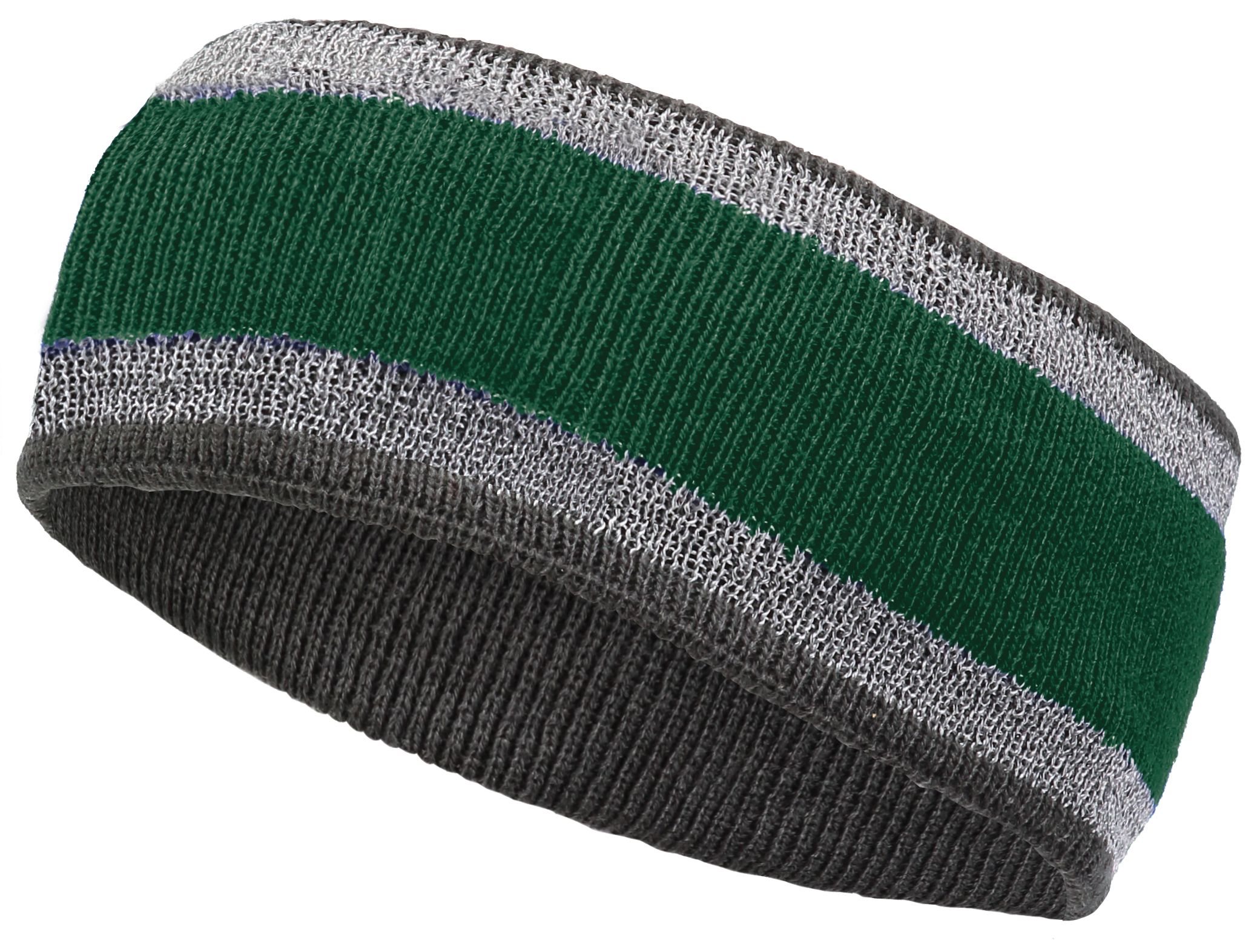 Reflective Headband - FOREST/CARBON