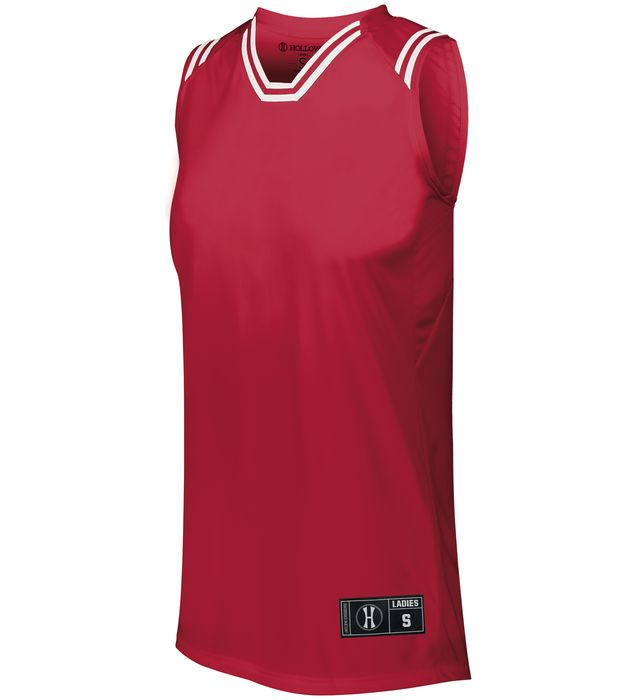 Ladies Retro Basketball Jersey