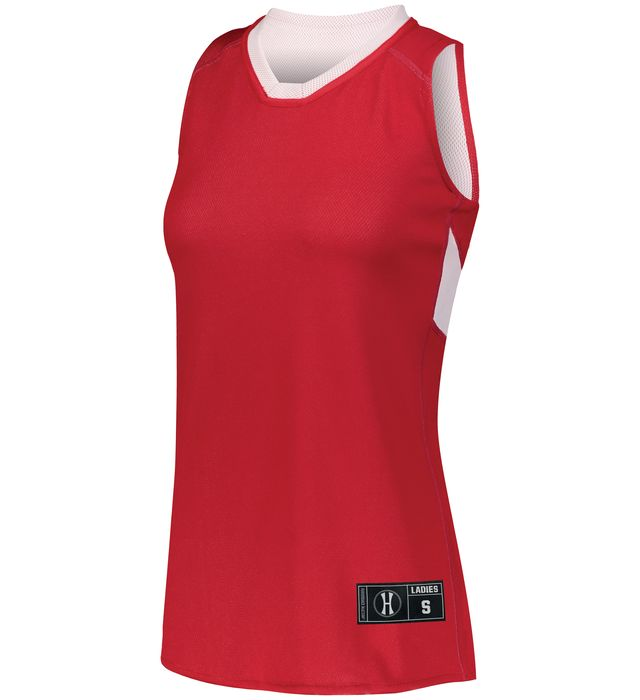 Ladies Dual-Side Single Ply Basketball Jersey
