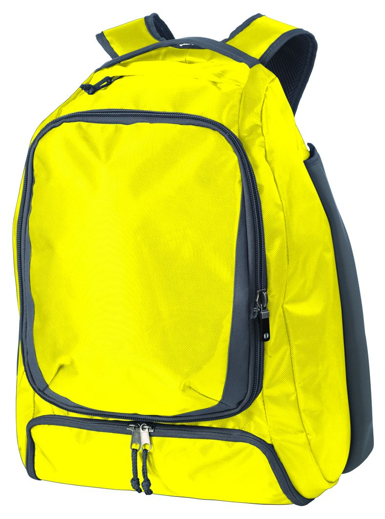 Bat Backpack - Bright Yellow/graphite